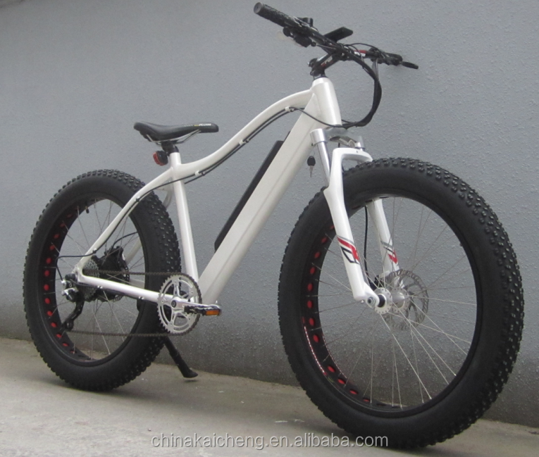 500w big motor fat tyre bike full suspenson for or normal fork KCMTB036