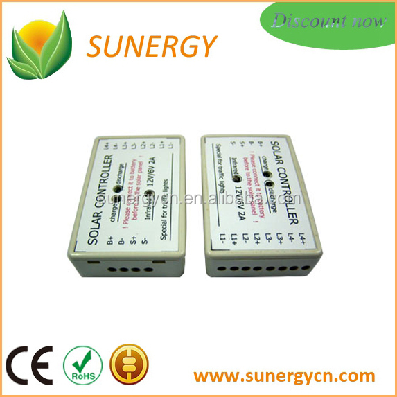 Cheap electronic load solar charge controller for street light