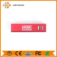Aluminum power bank 2600mah for promotion gift