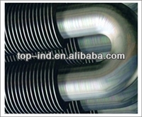 Finned tubular radiator