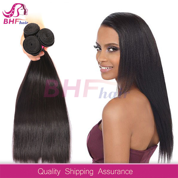 2016 New Hair Styling,wholesale 100% Virgin Brazilian hair. 16 inch straight weave 5A grade ,1#color .Hot selling.