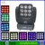 China market 9x10W 4in1stage lighting blinder dmx beam big moving head light