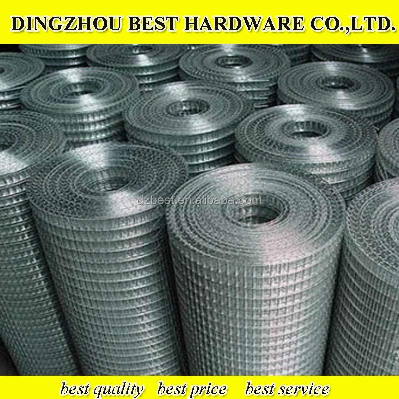 4x4 Galvanized Welded Wire Mesh& buildings fencing panel&metal fencing panels in roll
