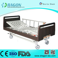 DW-BD186 Manual nursing bed with 2 functions manual home care bed
