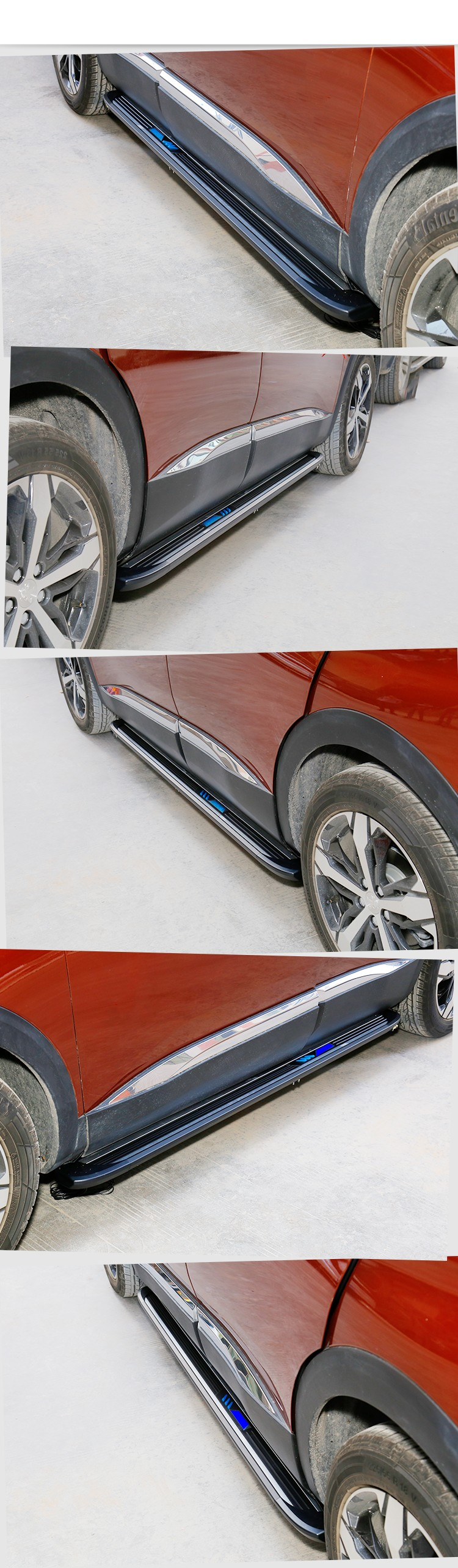 High quality 2017 running board vw touareg for Volkswagen side step