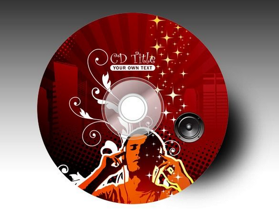 Image result for custom printed blank cds