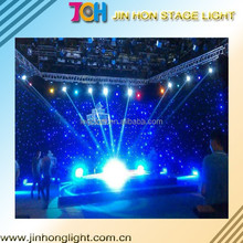 Pixel Pitch Fixed Installation star led curtain display screen