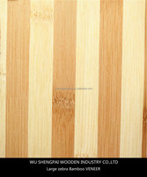 laminated flat pressing bamboo wood veneer sheets for wooden wall longboard skateboards decoration thin face skin