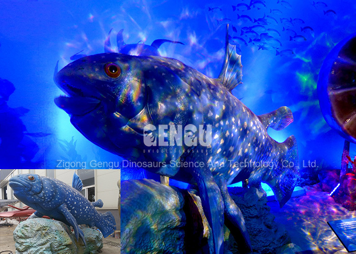 Water Park Remote Control Artificial Lifesize Fish Model