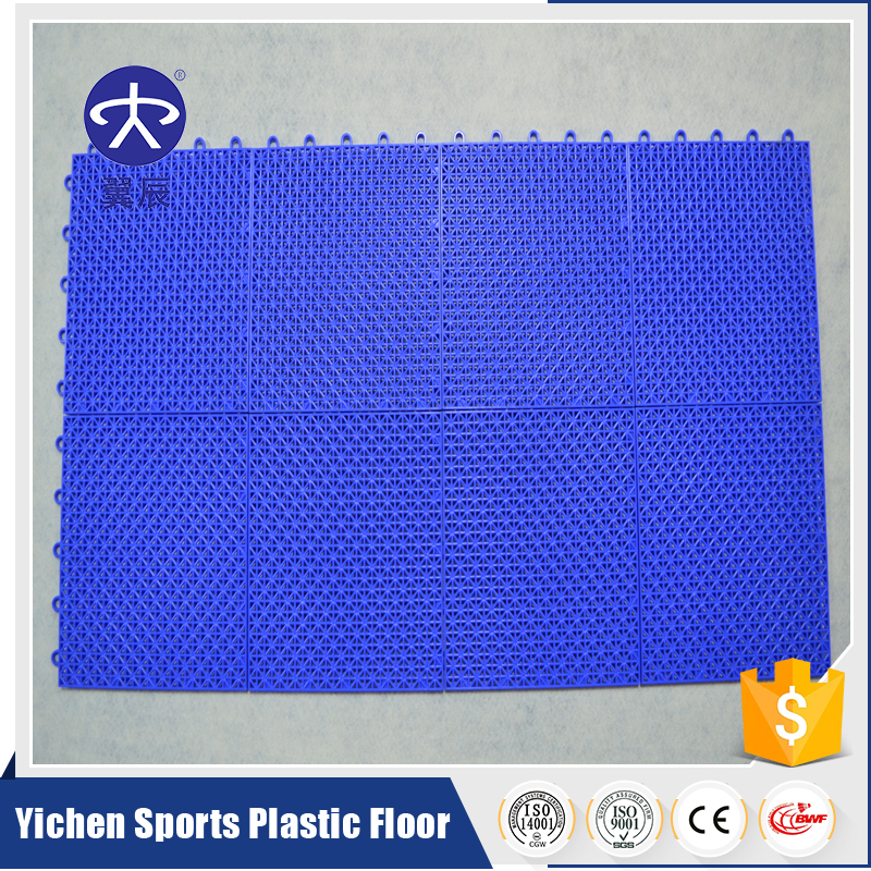 Direct factory Low Price PP Interlocking PVC Vinyl Flooring Garage Tile
