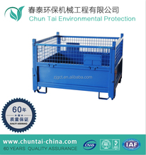 wire mesh container,steel storage cages,storage metal cage