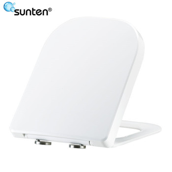 China Wholesale SUNTEN Soft Closing New Style Square Toilet Seat