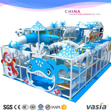 CE Approved snow Theme Amusement Soft Play Indoor Playground Equipment