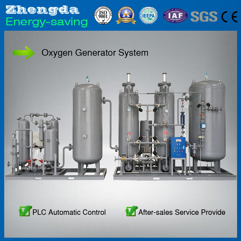 High purity PSA Automatic Control Oxygen Generator for Chemical Industry Or Package