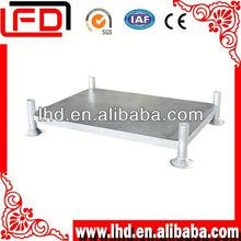 Warehouse and transport Tyre Pallet Rack of clothing
