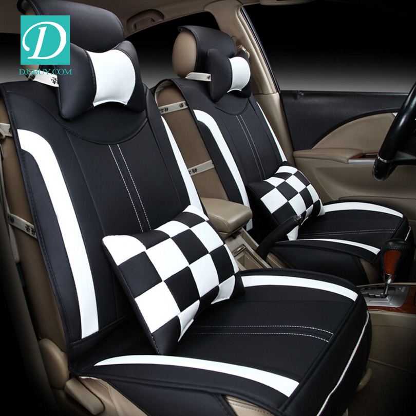 Brand New Styling Genuine Leather Complete Set Car Seat Cover