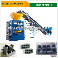 high capacity manual block moulding machine/QT4-24 brick making machine for small investors