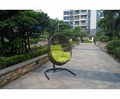 Competitive Price Outdoor Swing Rattan Egg Chair