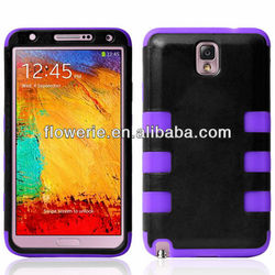 FL3221 Guangzhou 2013 New Arrival 3 in 1 heavy duty case cover for samsung galaxy note 3 n9000