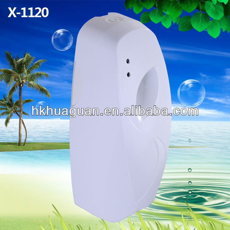 LED Auto Aerosol perfume dispenser spray liquid Fragrance diffuser Air freshener keep air fresh