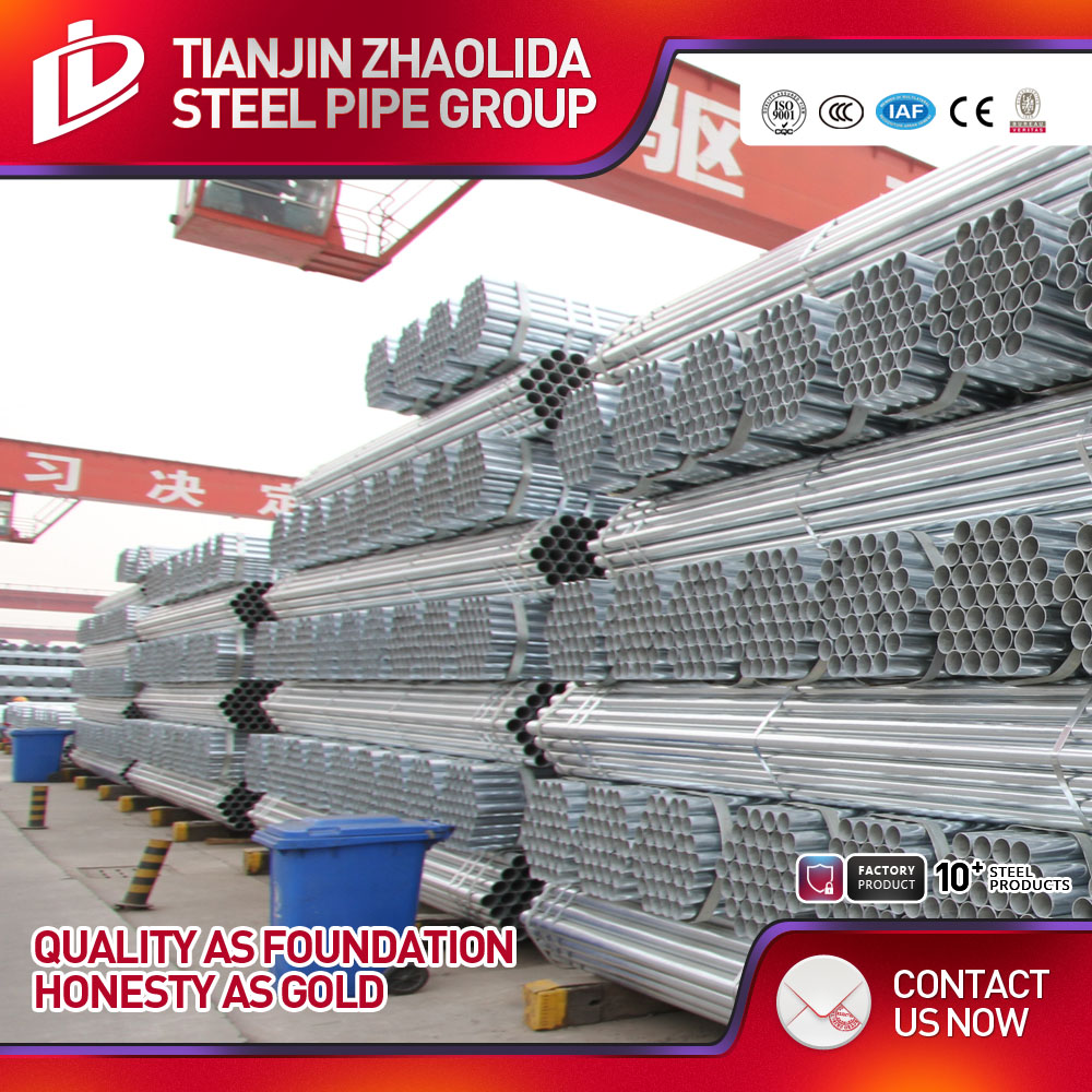 Quality ensurance standard hot dipped galvanized square steel pipe price per unit