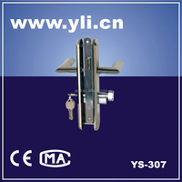 latch With Cylinder & Thumbturm (Mechanical Lock) YS-307 popular
