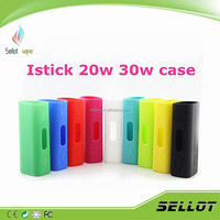 Istick Case For 30W 20w Silicone Protection Case In Stock Black Blue Red Pink Green White