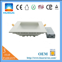 explosin-proof ultra slim smd ip65 ceiling dali dimmable adjustable square led downlight housing