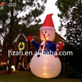 Giant Lighting Inflatable Snowman with Candy for Christmas Decoration