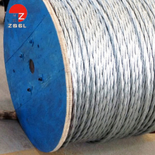 Hot Galvanized cheap safety rope cable barrier highway guardrail steel wire strand
