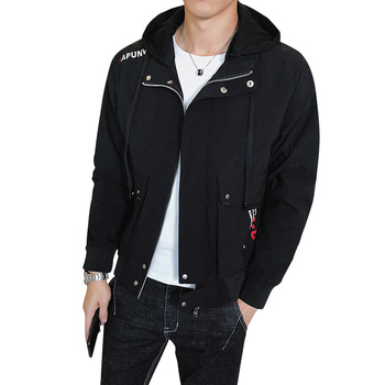 China Factory Wholesale High Quality 100% Polyester Fashion Winter Mens Jacket
