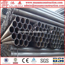 ASTM A53 black carbon steel pipe/cement lined carbon steel pipe