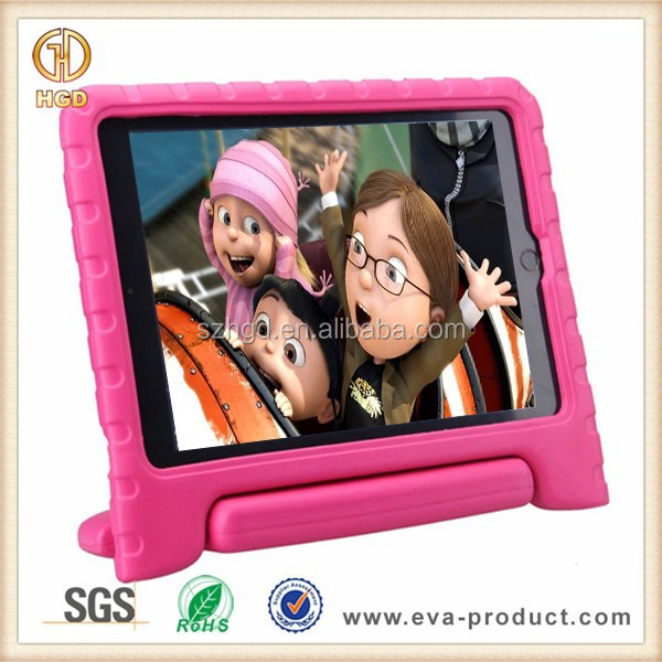 Foam Child Proof Hot Pink Stand Case and Cover for iPad Air 2