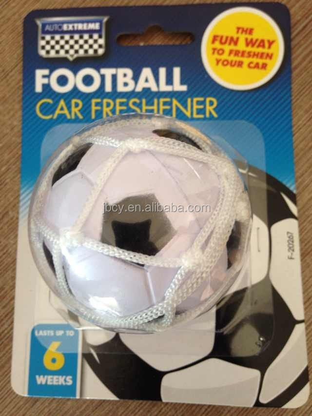 2015 Football car air freshener/hanging ball air freshener