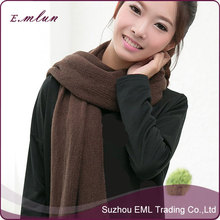 Thick Women's Scarf Shawls Long Fluffy Knitting Scarf