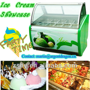 Ice cream Storage Chest Freezer for ice cream display