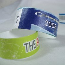 Tyvek bracelet full color printing
