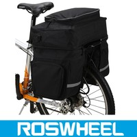 new design motorcycle large twin black sports bike storage pannier bag mountain bike air bag
