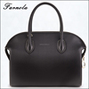 Guangzhou handbag market ostrich cow leather women leather handbags for wholesale