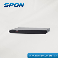 radio station broadcasting equipment for IP PA system