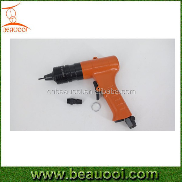 Pistol type semi-automatic M10-M12 air hydraulic riveter air pneumatic screw nut riveter gun