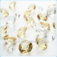 Acrylic Scatter Faux Crystal Diamond For Wedding Party Confetti