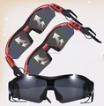 Super fashion China factory wholesale bluetooth sunglasses headset with mp3 player