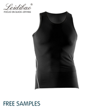 High quality best sales sport body building mens compression gym tank top