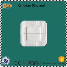 Newly breathable waterproof Non-woven/PU dressings medical and surgical wound dressing