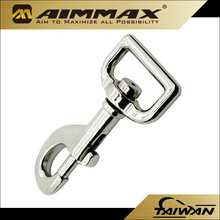 25mm to 50mm High Quality Zinc Alloy Bag Dog Snap Hook /Swivel Hook