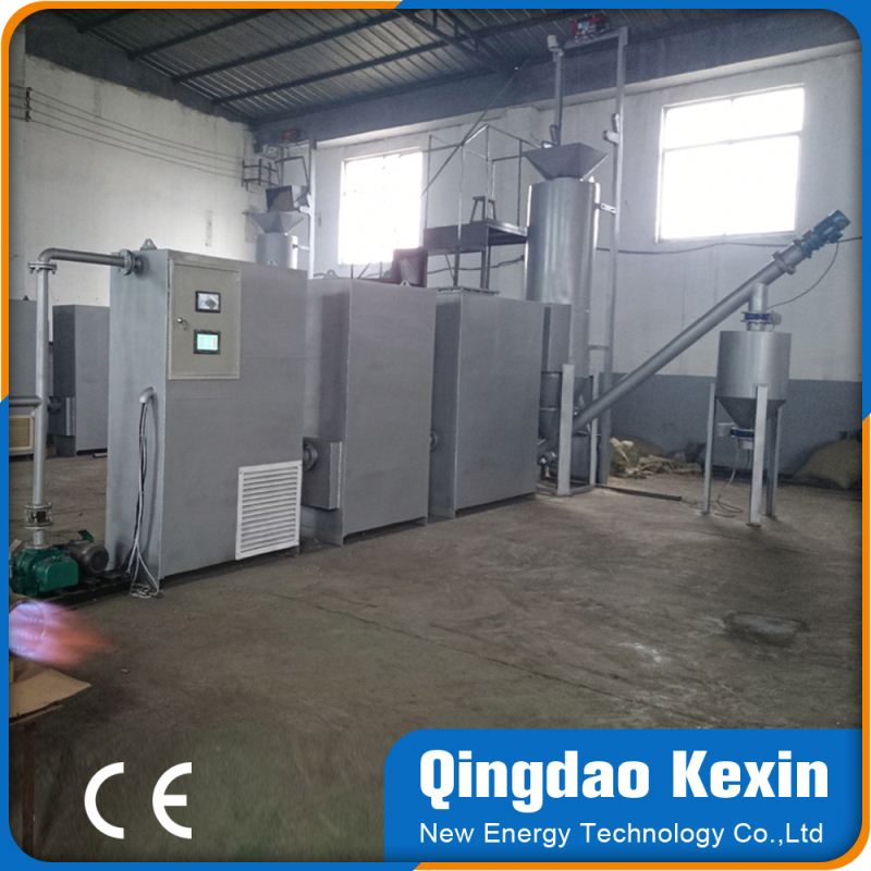 hot portable small automatic biomass gasifier burning furnace diesel generators for sale