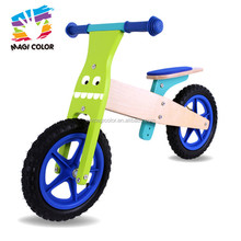Wholesale unique cute wooden walking balance bike for children used in outdoor W16C095E