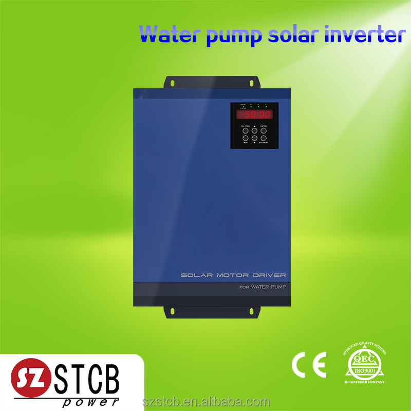 Easy using 2.2kw 7.5kw 11kw 3 phase solar pump inverter with mppt