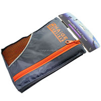 Microfiber towel wholesale Sport Microfiber Travel Towel and Sports Towels with carry mesh bag and private label logo